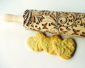 SPRING Embossing Rolling Pin.