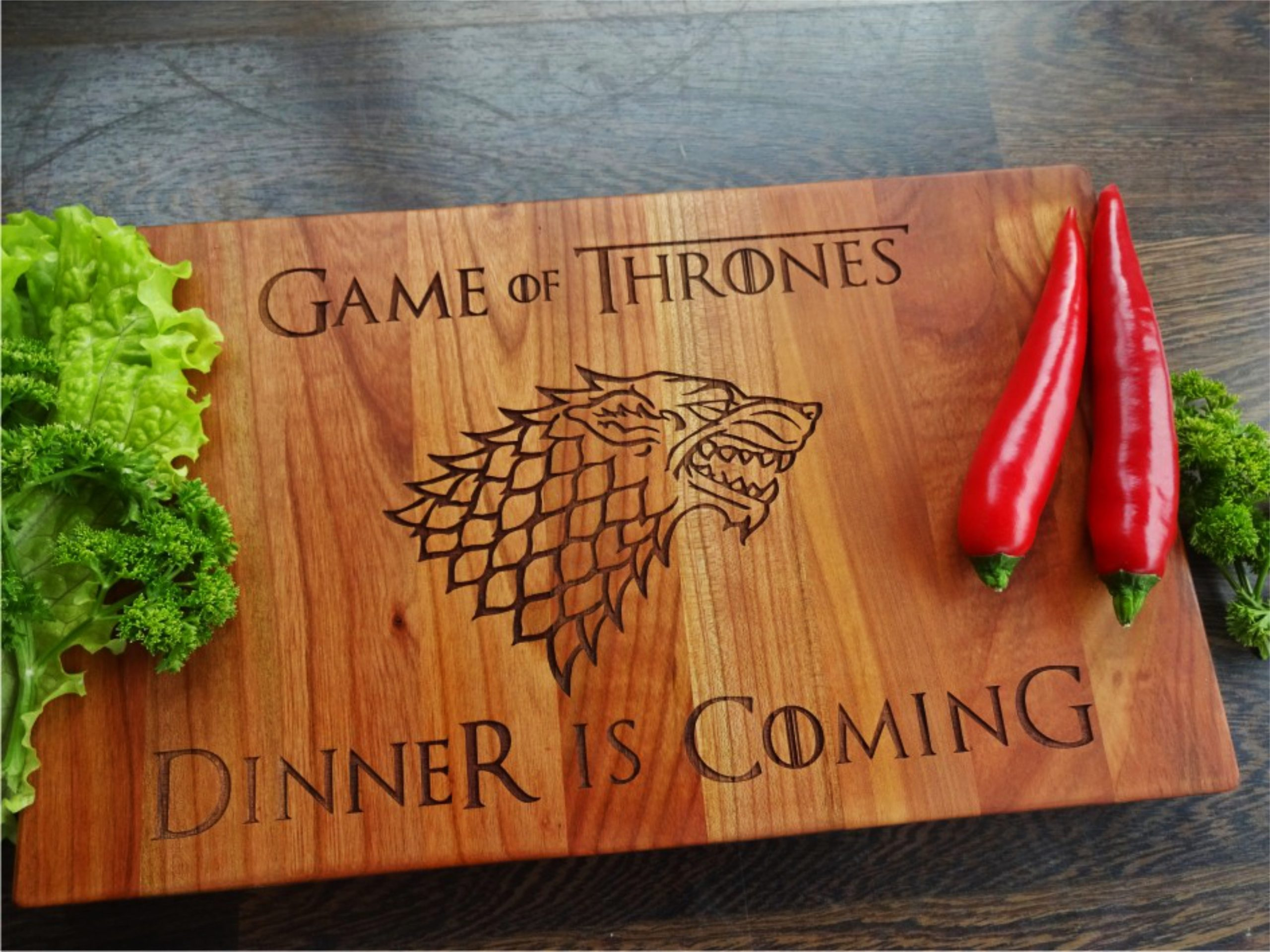 GAME of THRONES. Dinner is Coming Khaleesi.