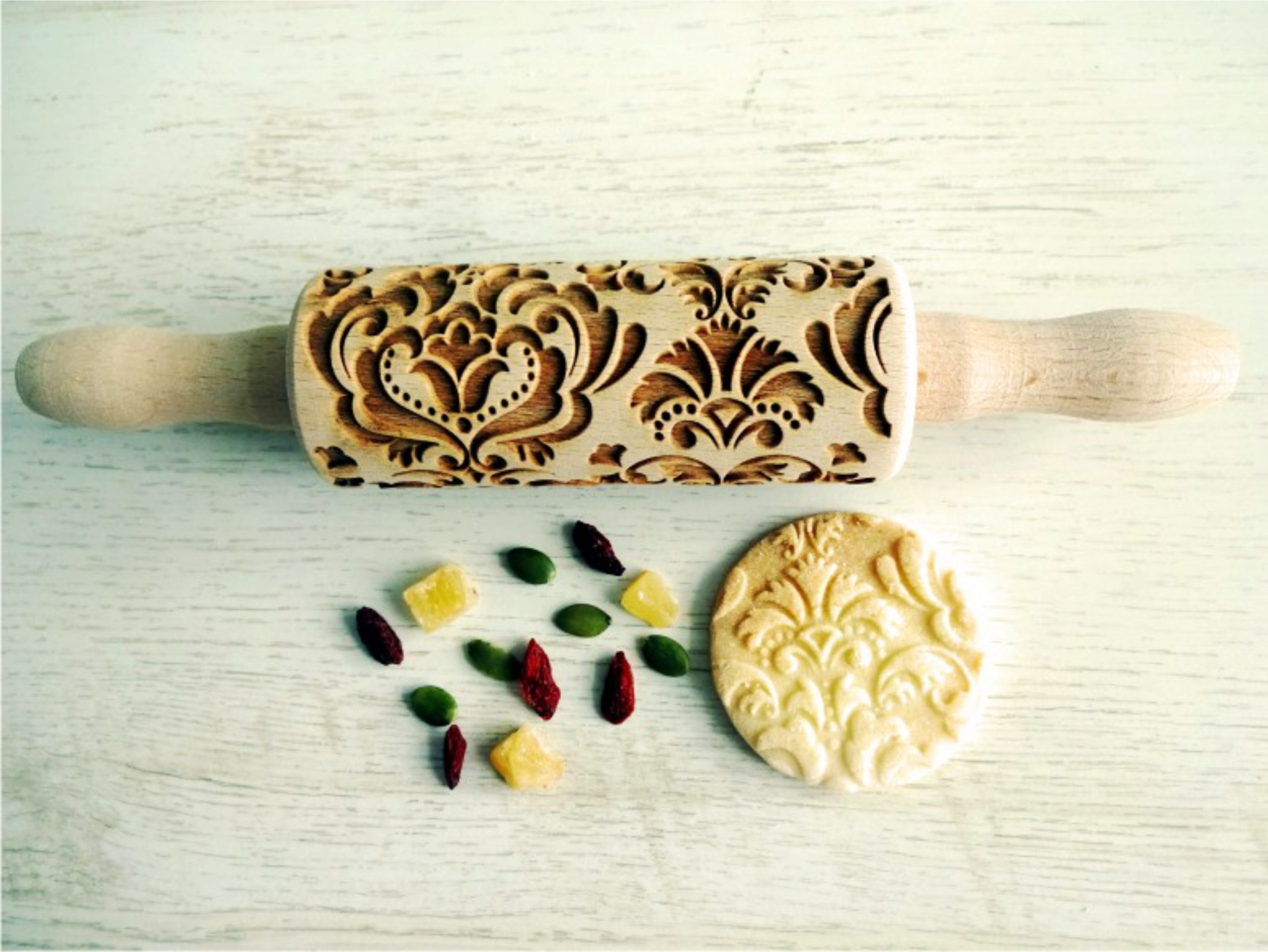 DAMASK kids rolling pin