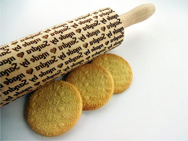 Personalized Rolling Pin - made by ....