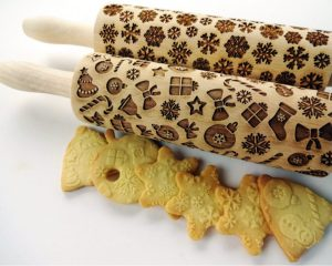 2 ANY pattern Rolling Pin SET