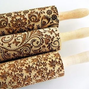 3 ANY pattern Rolling Pin SET