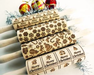 4 ANY pattern Rolling Pin SET