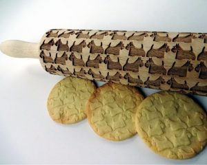 TERRIER embossing rolling pin