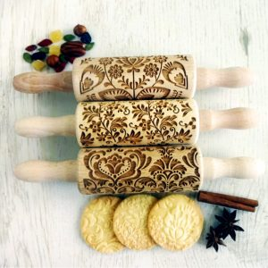 FLOWERS 3 KIDS mini Rolling Pin SET