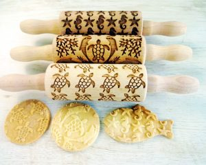 SEA 3 Kids mini Rolling Pin SET