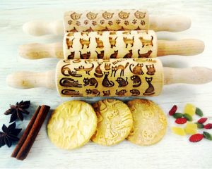 CATS 3 Kids mini Rolling Pin SET