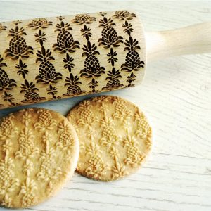 PINEAPPLES embossing rolling pin