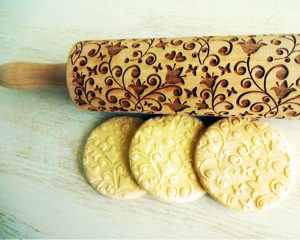 BELLFLOWER embossing rolling pin