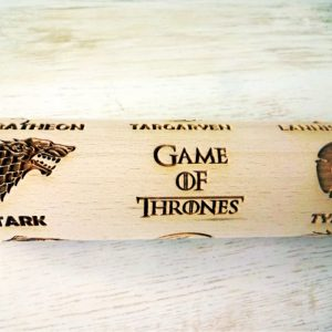 GAME of THRONES embossing rolling pin