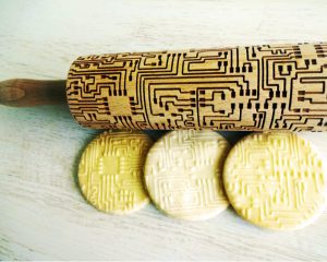 MICROCHIP Embossing Rolling Pin