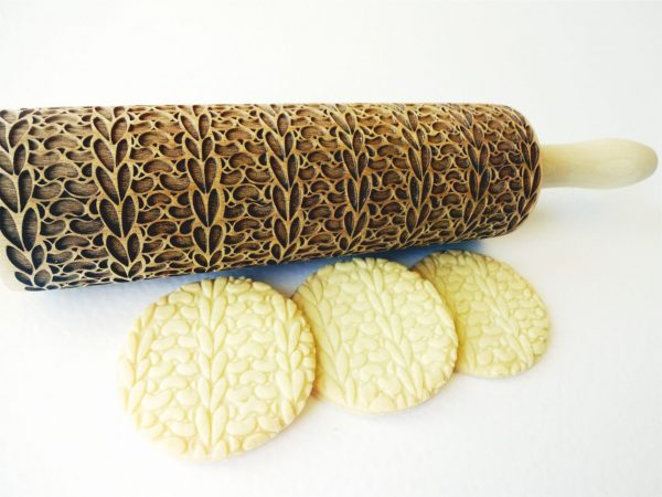 KNITTING Embossing Rolling Pin