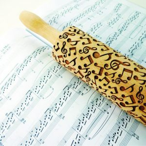 MELODY Embossing Rolling Pin