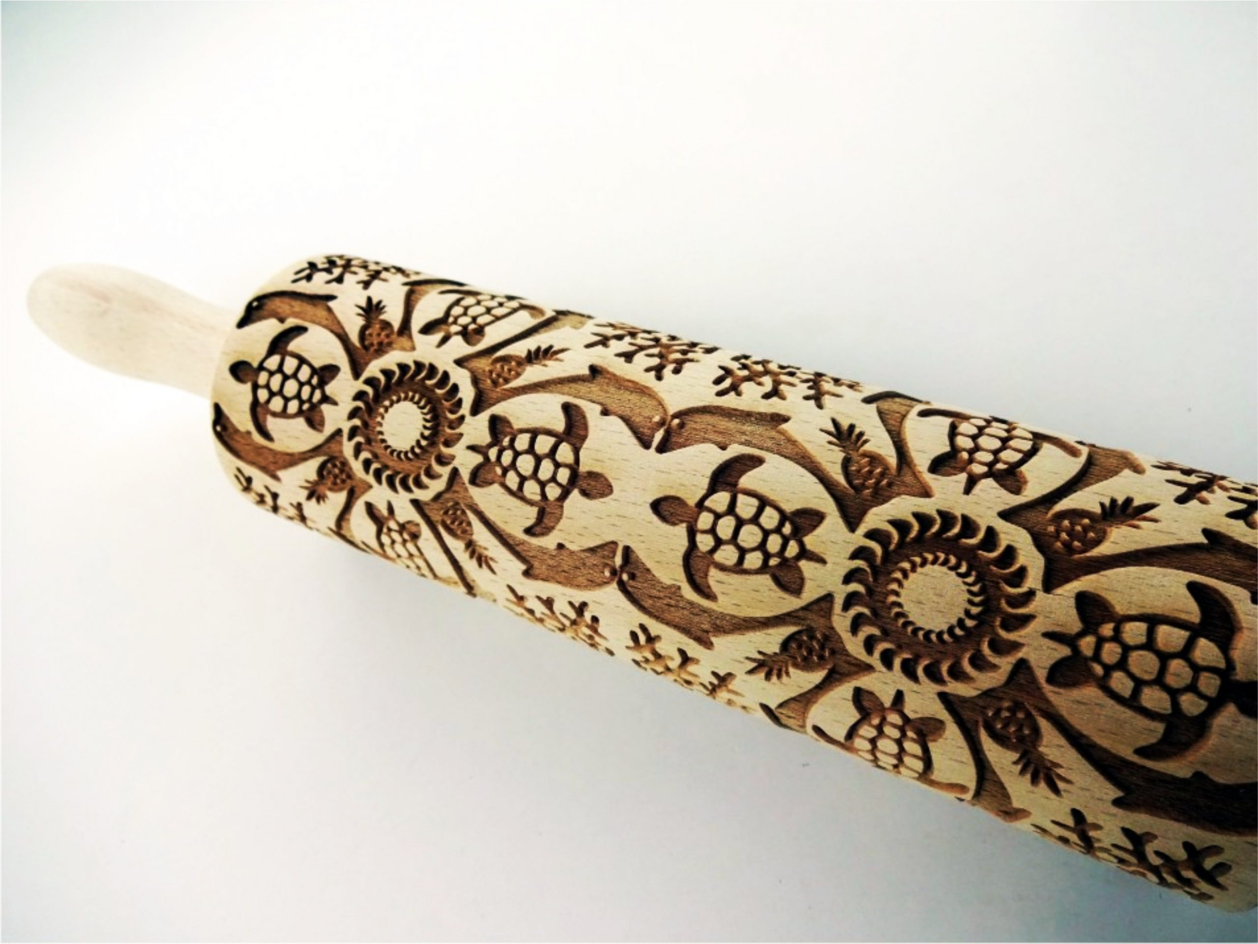 HAWAII Embossing Rolling Pin