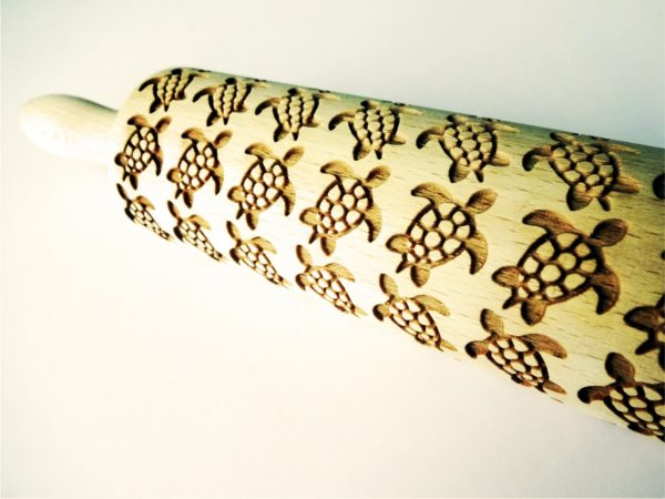 TURTLES Embossing Rolling Pin