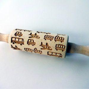 TRANSPORT kids rolling pin