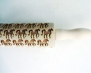 HORSES kids rolling pin