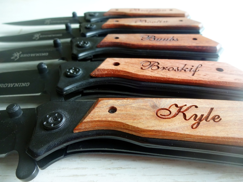10 SET Personalized Pocket Knives