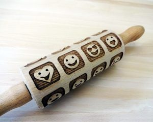 SMILES kids rolling pin