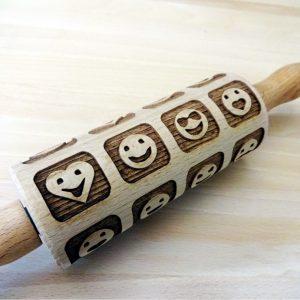 SMILES kids rolling pin