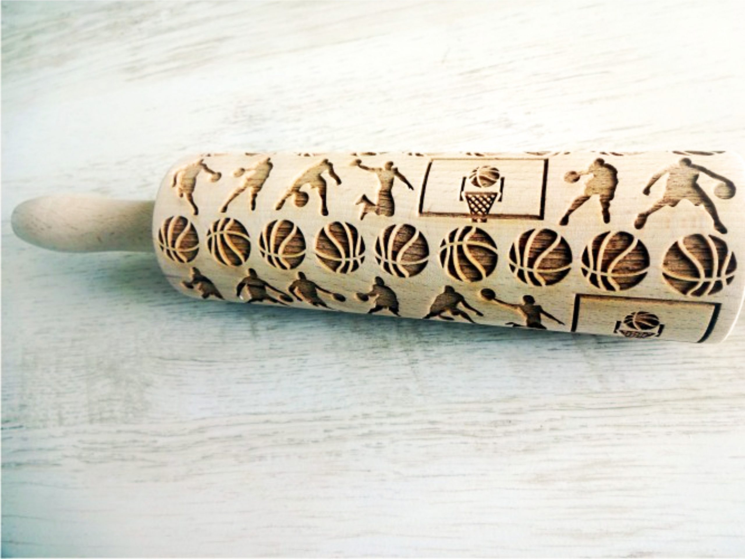 BASKETBALL Embossing Rolling Pin