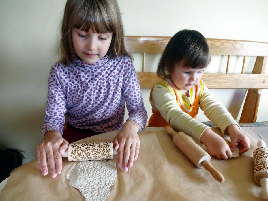 2, 3, 4, 5 or 6 ANY Pattern KIDS Rolling pin SET