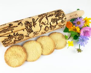 Embossing Rolling Pin MEADOW